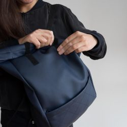 Roll–top backpack
