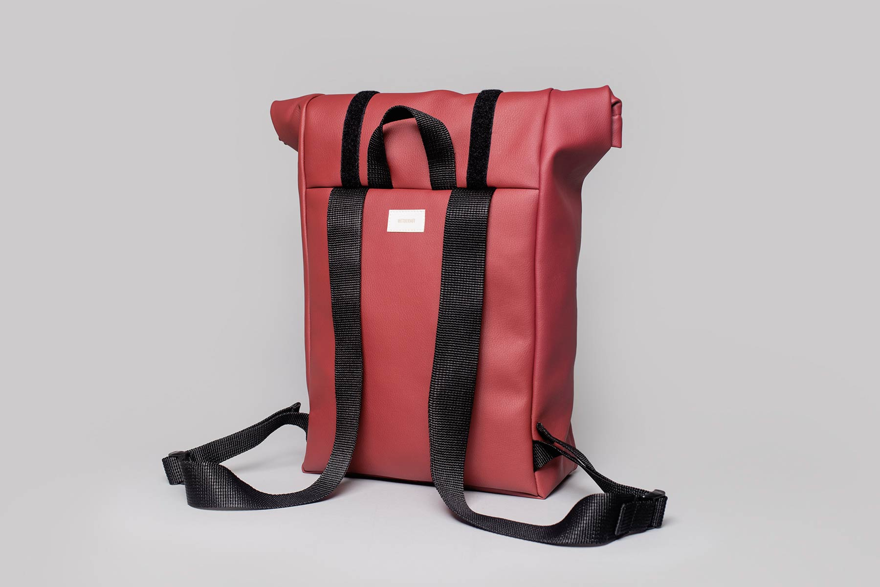 42c59e715 Vegan leather backpack in cherry • wetheknot • Produced in Portugal