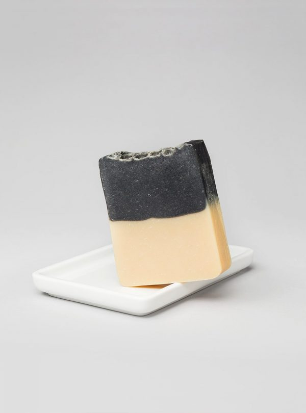 Vetiver and black clay vegetable soap, made in portugal by wetheknot