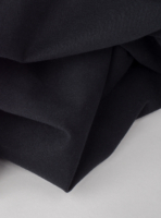 Organic cotton fabric in black with 250gsm