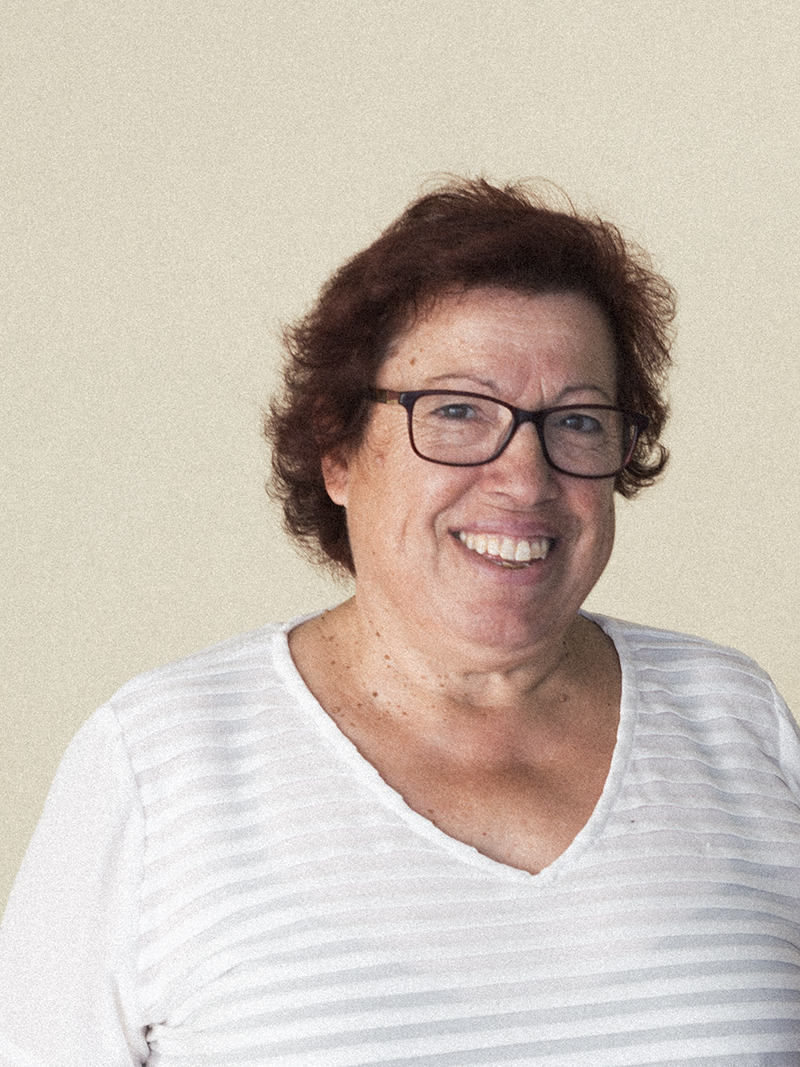 A portrait of Dona Manuela, one of the key partners of wetheknot
