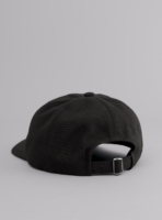 Everywhere cap (black) in sun and fade resistant fabric, made in Portugal by wetheknot.