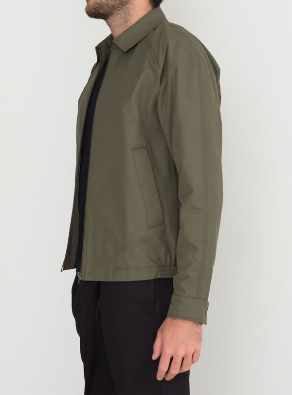 wetheknot harrington jacket green cotton nylon 03